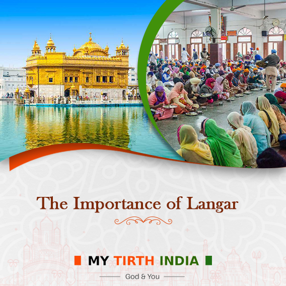 The Divine Service Of Langar in The Golden Temple