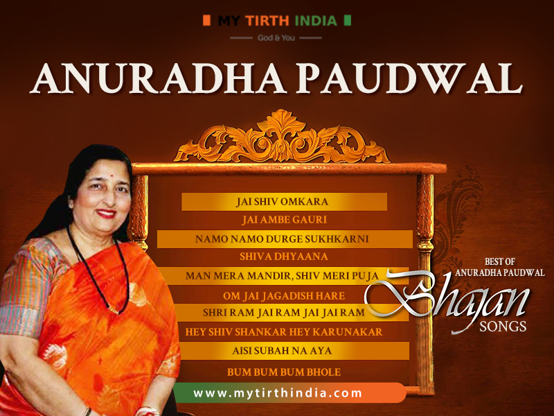 A Checklist of the Top 10 Anuradha Paudwal Bhajan Songs